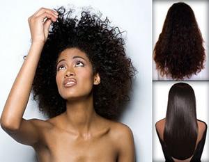 Красивые, гладкие волосы - результат кератинового выпрямления