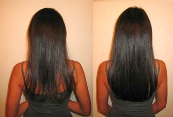 Эффект от биоламинирования волос