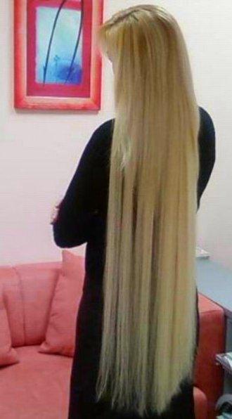 Прически с нарощенными волосами ленты