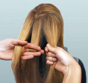 домашние прически для длинных волос