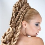 Косички на длинные волосы — плетем сами