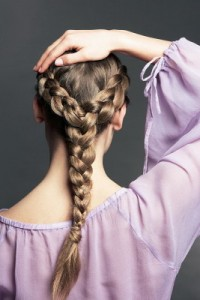 Французская коса- классика жанра