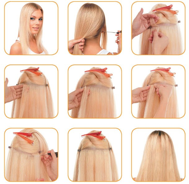 Убирать волосы в домашних условиях