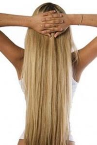 Волосы после ленточного наращивания
