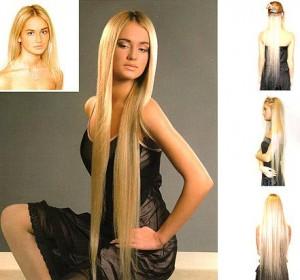 Наращивание волос ленточным способом