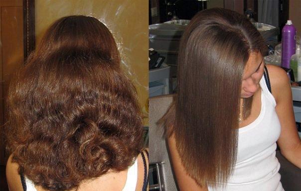 Бразильское кератиновое выпрямление волос как делать
