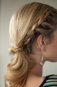 красивые косички на средние волосы