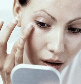Средство от синяков под глазами - массаж