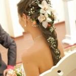 Как выглядит прическа свадебные косы на длинные волосы