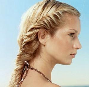 косы на волосы средней длины