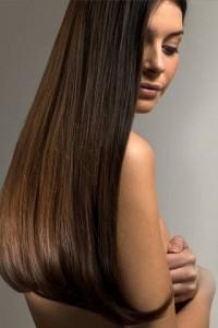Кератиновое выпрямление и восстановление волос темных оттенков