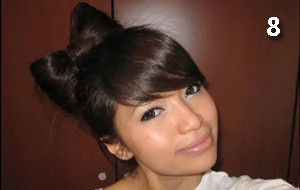 Hair Bow Tutorial Hairstyle for Short and Long Hair.