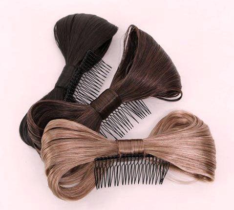 Как сделать бант из волос - советуют знаменитости.