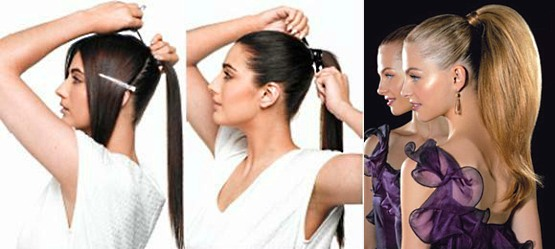 прически на каждый день с наращенными волосами