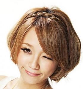 Плетем косы на короткие волосы