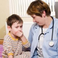 Детский кашель - повод обратиться к врачу