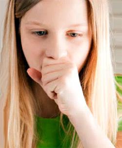 Небольшой кашель при насморке у ребенка