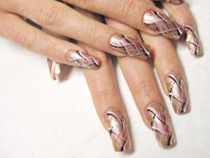 Как сделать простые рисунки на ногтях?