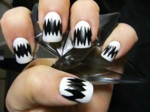 Как сделать рисунки на коротких ногтях?