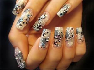 Рисунки на ногтях акриловыми красками - как сделать?