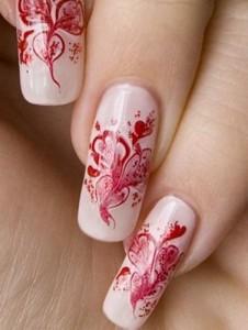 Как научиться делать рисунки на ногтях иголкой?
