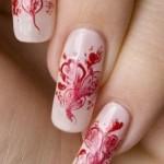 Рисунки на ногтях иголкой – проще простого
