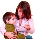 Как снизить температуру у ребенка?