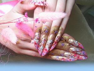 Красивые фото китайской росписи ногтей