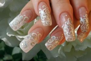 Свадебный маникюр своими руками - выбор дизайна