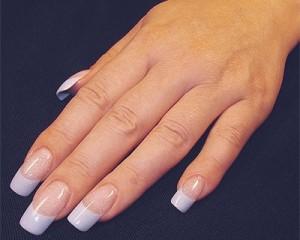 Красивое наращивание ногтей акрилом фото