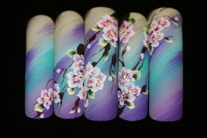 Пройти обучение китайской росписи ногтей