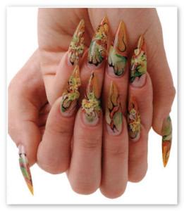 Какой будет осенний дизайн ногтей 2013?