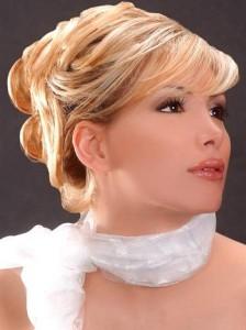 Свадебный макияж для карих глаз блондинок