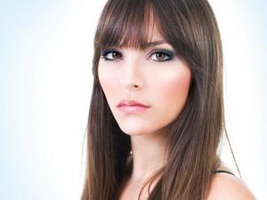Дневной макияж для карих глаз брюнеток