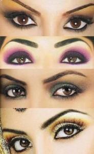 Уроки макияжа для карих глаз - пошаговая инструкция
