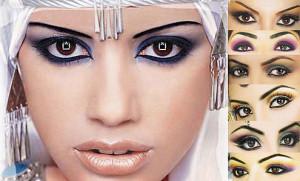 Восточный макияж для карих глаз - варианты