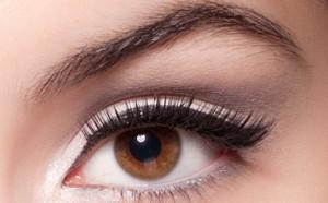 Дневной макияж для карих глаз фото