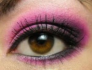 Вечерний макияж для карих глаз - выбор цвета