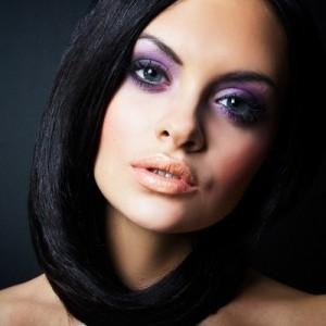 Вечерний макияж для брюнеток фото