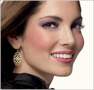 Уроки макияжа для карих глаз фото