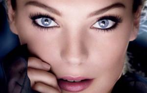 вечерний макияж для голубых глаз блондинок