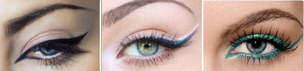 вечерний макияж для голубых глаз фото