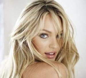 дневной макияж для голубых глаз блондинок