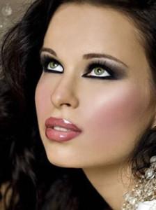 Вечерний макияж для брюнеток - оттенки