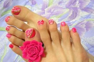 Ногти на ногах наращиваем ногти на