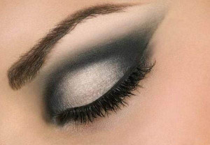 Дымчатый макияж фото
