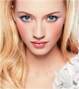 Красивый макияж для голубых глаз - выбор оттенков