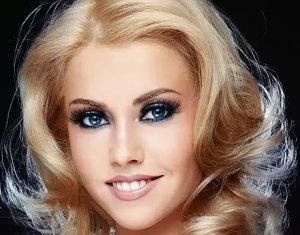 Вечерний макияж для блондинок фото