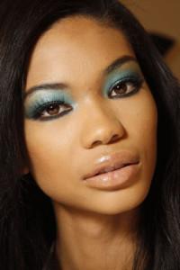 Вечерний макияж для карих глаз фото