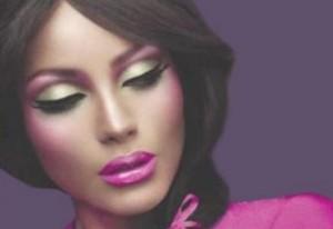 Новогодний макияж для зеленых глаз фото